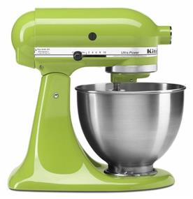 KitchenAid Ultra Power Series 4.5-Quart Tilt-Head Stand Mixer - Green Apple (KSM95GA)