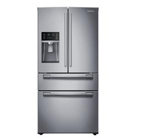 Samsung 24.7 cu.ft. Twin Cooling Plus System- Stainless Steel