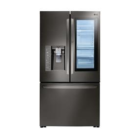 "LG 36"" 24 Cu. Ft. InstaView French Door Refrigerator with Ice System (LFXC24796D) - Black Stainless Steel"