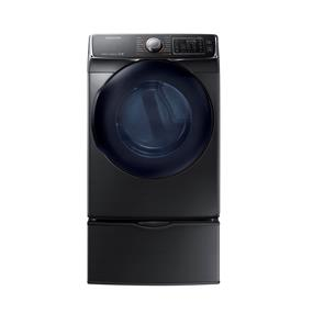 Samsung 7.5 cu.ft Electric Dryer - Black Stainless