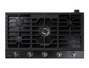 "Samsung NA36K7750TG/AA 36"" Gas Cooktop with 22 K BTU Dual Burner, 59000 BTU"