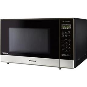 Panasonic NNST676S Mid-size 1.2 cu.ft .Countertop Microwave Oven - Stainless Steel