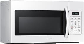 Samsung ME17H703SHW/AC Over the Range Microwave with Sensor Cook, 1.7 cu.ft