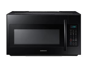 Samsung ME18H704SFB Over the Range Microwave with Simple Clean Filter, 1.8 cu.ft