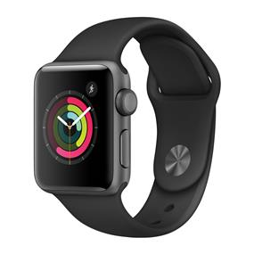 Apple Watch Series 2 38mm Smartwatch (Space Gray Aluminum Case, Black Sport Band)