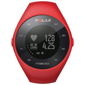 Polar M200 Smartwatch with Heart Rate Monitor - Red Medium/Large