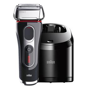 Braun 5090CC Series 5 Shaver with Clean & Charge Station