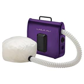 LAILA ALI Ionic Soft Bonnet Dryer, Purple and White