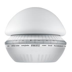 Homedics SoundSpa Enliven Lighted Color Changing Sound Machine (SS-4025)