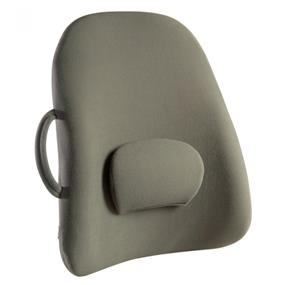 Obusforme Lowback Backrest Support - Grey (Polybag) (LB-GRY-CA)