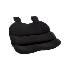 Obusforme Seat Cushion - Black (PolyBag) (ST-BLK-CA)