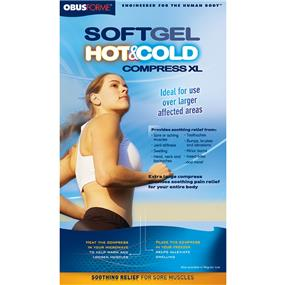 ObusForme Soft Gel Hot & Cold Compress XL (CO-EXL-SG)