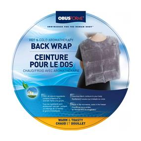 ObusForme Hot & Cold Aromatherapy Back Wrap