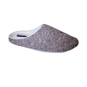Obus Memory Foam Comfort Slippers - Women (Medium) - Grey/Pink