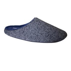 Obus Memory Foam Comfort Slippers - Men's (Large) - Grey/Black