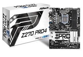 ASRock Z270 Pro4 Socket 1151 Intel Z270 Chipset