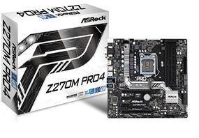 ASRock Z270M PRO4 Socket 1151 Intel Z270 Chipset