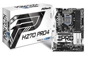 ASRock H270 Pro4 Intel H270 Chipset