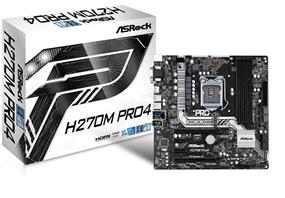 ASRock H270M Pro4 Intel H270 Chipset