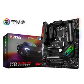 MSI Z270 GAMING PRO CARBON Socket 1151 Intel Z270 Chipset