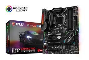 MSI H270 GAMING PRO CARBON Socket 1151 Intel H270 Chipset