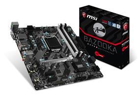 MSI H270M BAZOOKA Socket 1151 Intel H270 Chipset