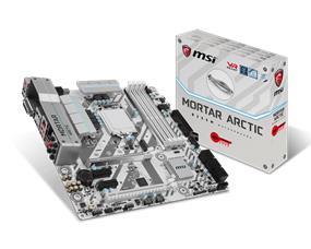MSI B250M MORTAR ARCTIC Socket 1151 Intel B250 Chipset