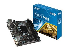 MSI B250I PRO Socket 1151 Intel B250 Chipset