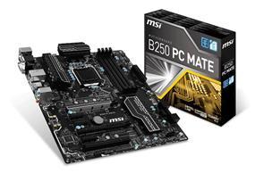 MSI B250 PC MATE Socket 1151 Intel B250 Chipset