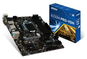 MSI B250M PRO-VDH Socket 1151 Intel B250 Chipset