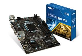 MSI B250M PRO-VD Socket 1151 Intel B250 Chipset