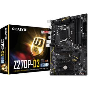 GIGABYTE GA-Z270P-D3 Socket 1151 Intel Z270 Chipset