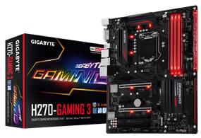 GIGABYTE GA-H270-Gaming 3 Socket 1151 Intel H270 Chipset