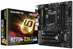 GIGABYTE GA-H270M-D3H Socket 1151 Intel H270 Chipset
