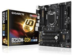 GIGABYTE GA-B250M-D3H Socket 1151 Intel B250 Chipset