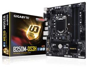 GIGABYTE GA-B250M-DS3H Socket 1151 Intel B250 Chipset