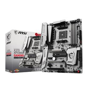 MSI X370 XPOWER GAMING TITANIUM Socket AM4 AMD X370 Chipset