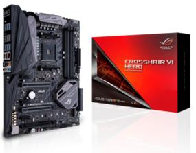 ASUS ROG CROSSHAIR VI HERO Socket AM4 AMD X370 Chipset