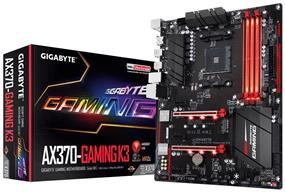 GIGABYTE GA-AX370-Gaming K3 Socket AM4 AMD X370 Chipset