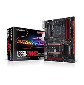 GIGABYTE GA-AB350-Gaming 3 Socket AM4 AMD B350 Chipset