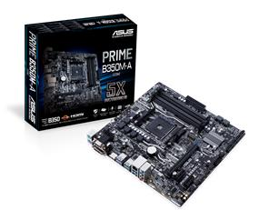 ASUS PRIME B350M-A/CSM Socket AM4 AMD B350 Chipset