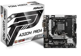 ASRock A320M Pro4 Socket AM4 AMD A320 Chipset