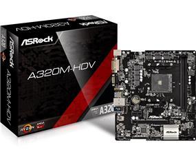 ASRock A320M-HDV Socket AM4 AMD A320 Chipset
