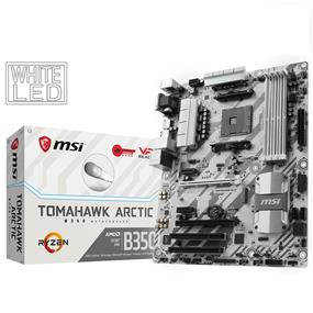 MSI B350 TOMAHAWK ARCTIC Socket AM4 AMD B350 Chipset