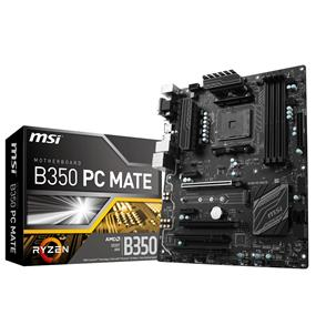 MSI B350 PC MATE Socket AM4 AMD B350 Chipset