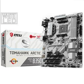 MSI B350M MORTAR ARCTIC AMD B350 AM4 64G DDR4 mATX 1 Retail