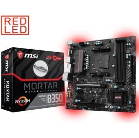 MSI B350M MORTAR Socket AM4 AMD B350 Chipset