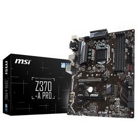 MSI Z370-A PRO LGA 1151 (8th Gen CPU Only) Intel Z370