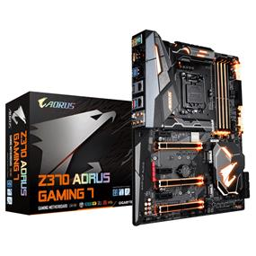 GIGABYTE Z370 AORUS Gaming 7 LGA 1151 (8th Gen CPU Only) Intel Z370
