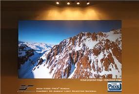 Elite Screens Aeon AR120DHD3 Fixed Frame Projection Screen - 120""